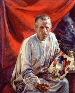 Selbstportrait Otto Dix